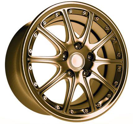 Colour alloy wheels at Rimtech
